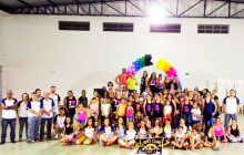 Zumba beneficente no Lions Clube